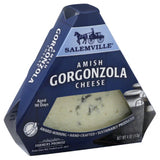 Salemville Amish Gorgonzola Cheese, 4 Oz (Pack of 12)