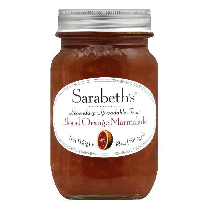 Sarabeth Blood Orange Marmalade, 18 OZ (Pack of 6)