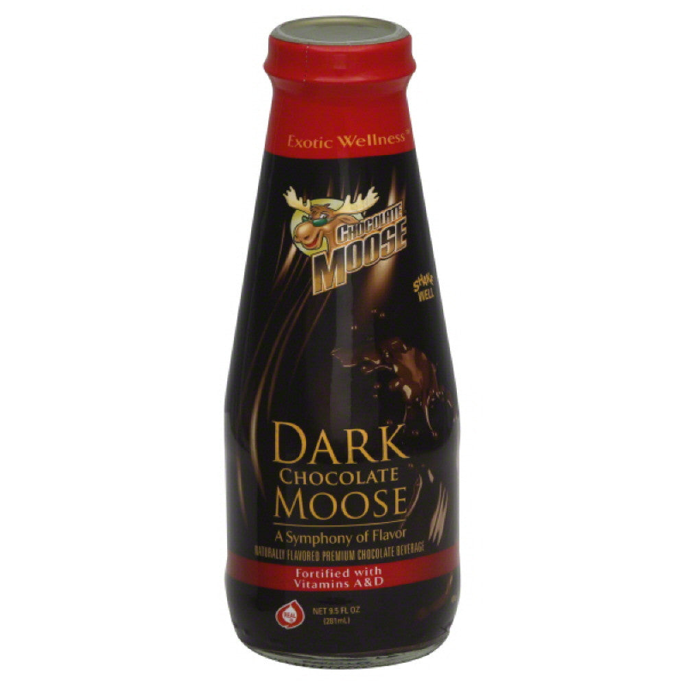 Chocolate Moose Dark Chocolate Moose Premium Chocolate Beverage, 9.5 Fo (Pack of 12)