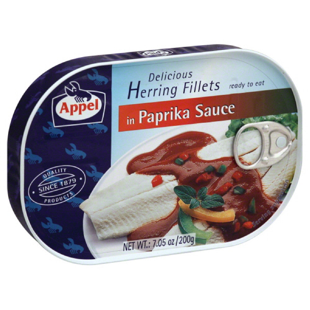 Appel Herring Fillets in Paprika Sauce, 7.05 Oz (Pack of 10)