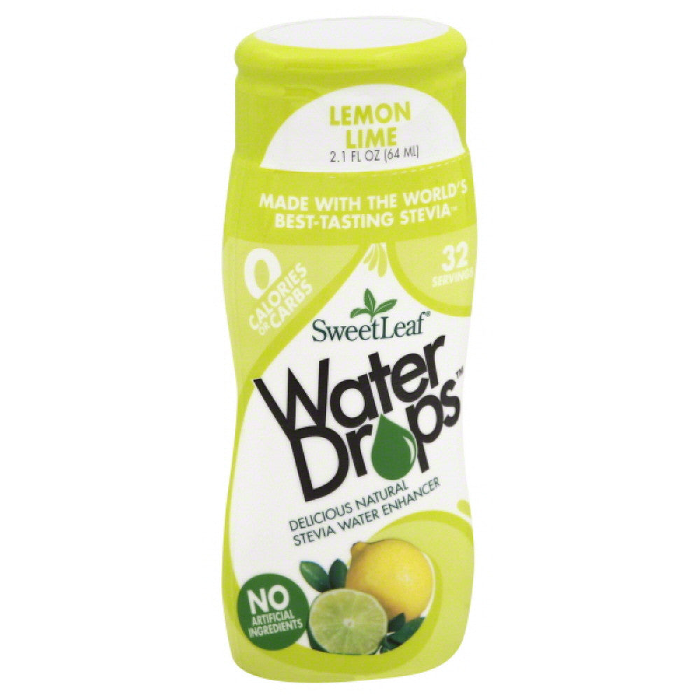 SweetLeaf Lemon Lime Stevia Water Enhancer, 2.1 Fo (Pack of 6)
