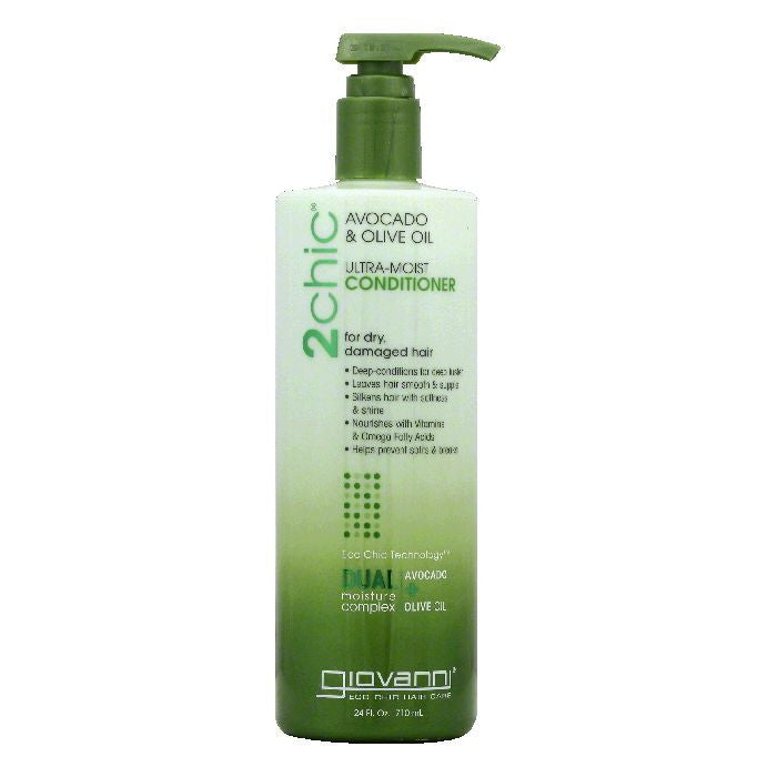 Giovanni Damaged Hair for Dry Avocado & Olive Oil Conditioner, 24 OZ