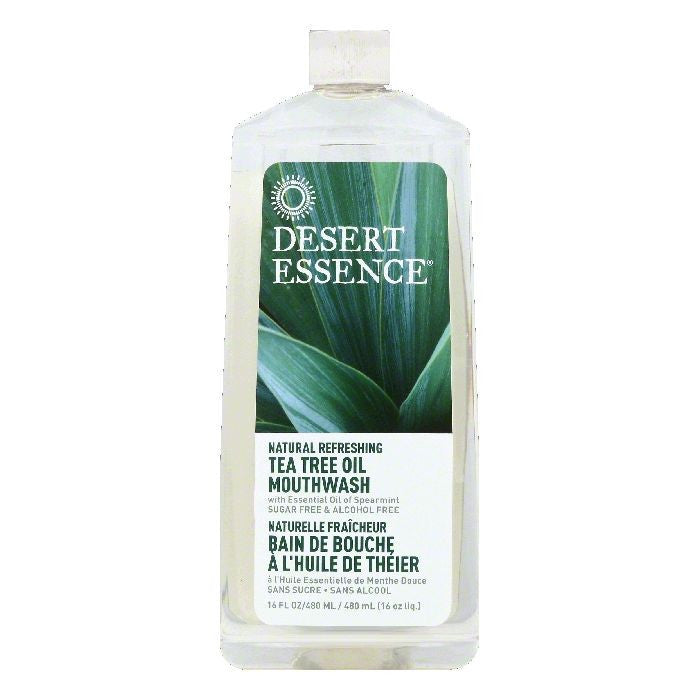 Desert Essence Tea Tree Oil Mouthwash, 16 OZ