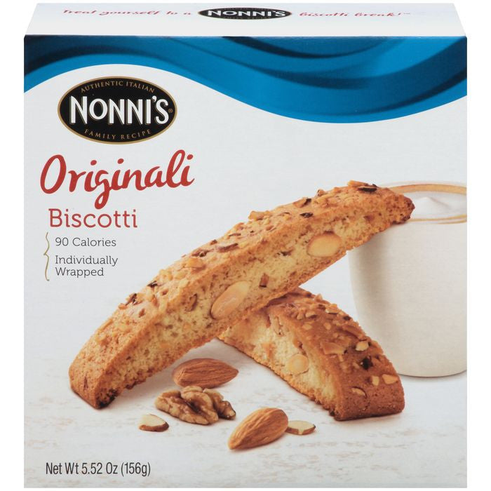 Nonni's Originali Biscotti 5.52 Oz  (Pack of 12)