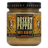 Desert Pepper White Bean Dip - Medium, 16 OZ (Pack of 6)