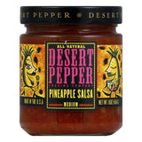 Desert Pepper Pineapple Salsa - Medium Hot, 16 OZ (Pack of 6)