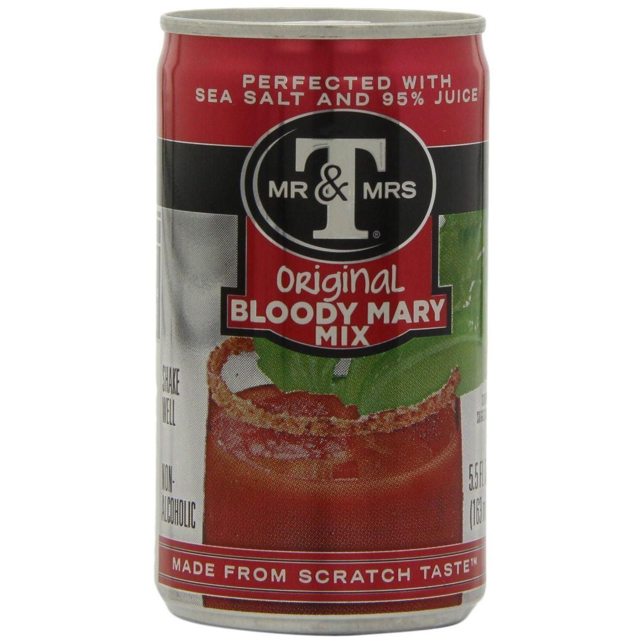Mr. & Mrs. T Bloody Mary Mix, 5.5 Oz (Pack of 24)