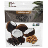 Made In Nature Italian Espresso Toasted Coconut Chips, 3 Oz (Pack of 6)