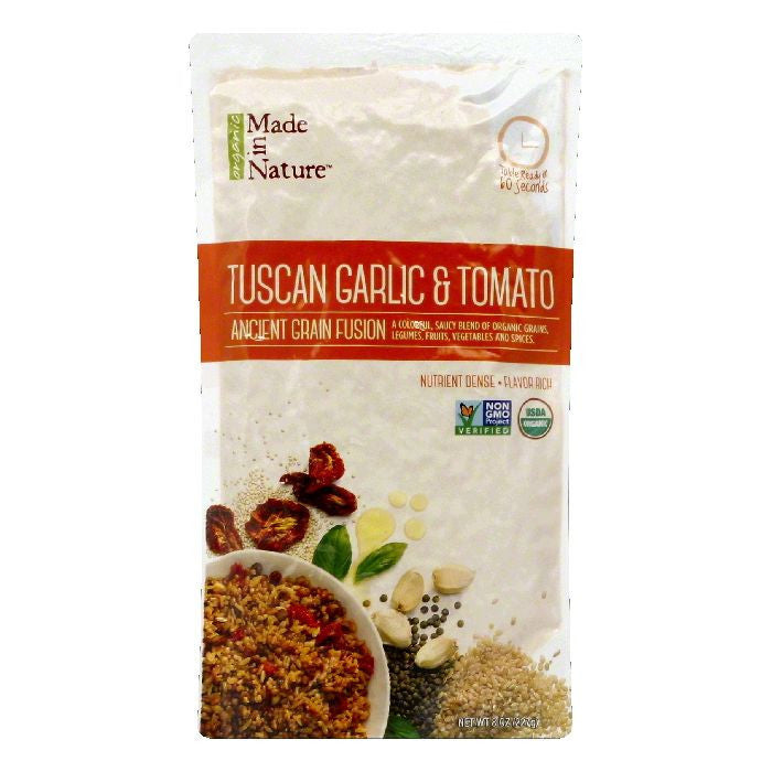 Made In Nature Tuscan Garlic & Tomato Ancient Grain Fusion, 8 OZ (Pack of 6)