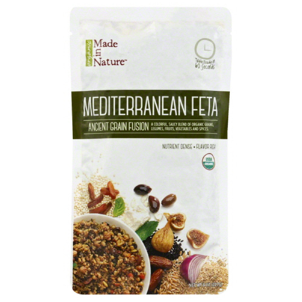 Made In Nature Mediterranean Feta Ancient Grain Fusion, 8 Oz (Pack of 6)