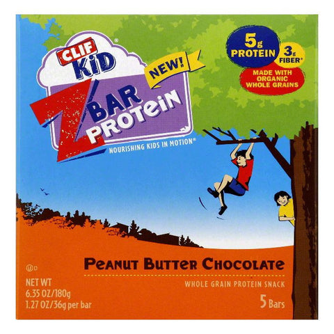 Clif Peanut Butter Chocolate Protein Z Bar, 6.35 Oz (Pack of 6)