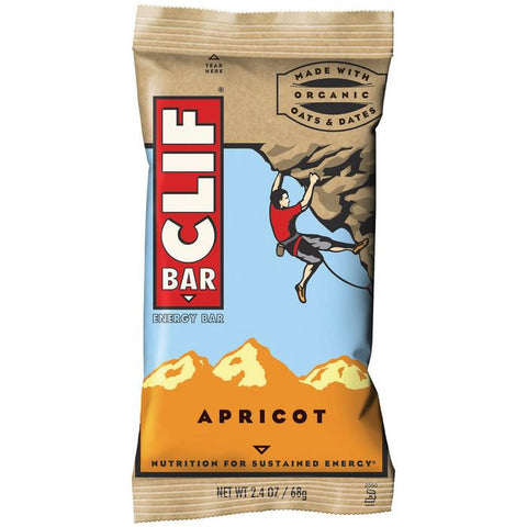 CLIF Bar Apricot Energy Bar 2.4 Oz  (Pack of 12)