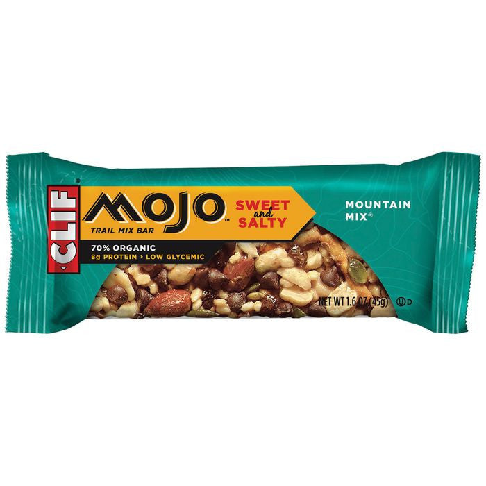 CLIF Mojo Bar Mountain Mix Trail Mix Bar 1.6 Oz  (Pack of 12)