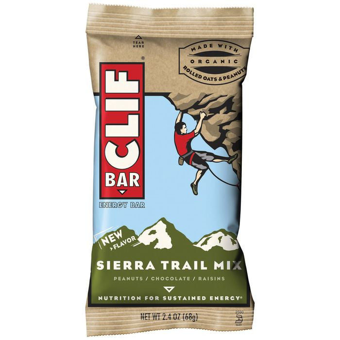 CLIF Bar Sierra Trail Mix Energy Bar 2.4 Oz  (Pack of 12)