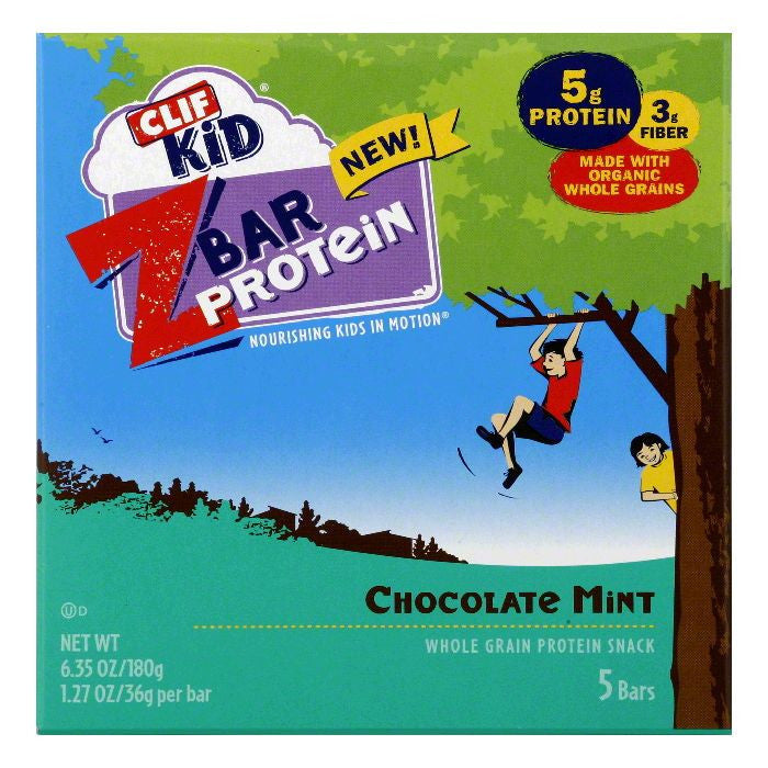 Clif Chocolate Mint Protein Z Bar, 6.35 Oz (Pack of 6)