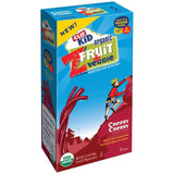 CLIF Kid ZFruit + Veggie Cheery Cherry Twisted Ropes 5 ct  (Pack of 6)