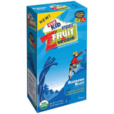 CLIF Kid ZFruit + Veggie Blueberry Blast Twisted Ropes 5 ct  (Pack of 6)