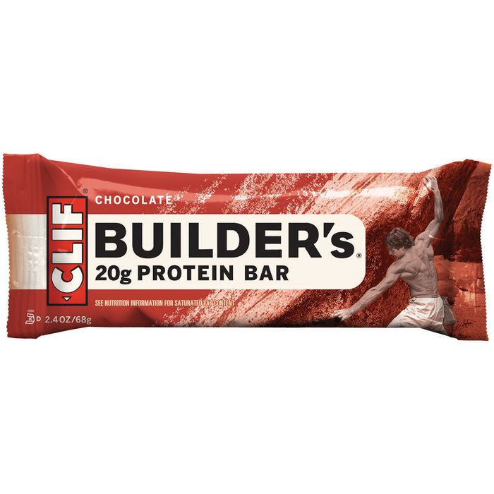 CLIF Builder's Chocolate Protein Bar 2.4 Oz  (Pack of 12)