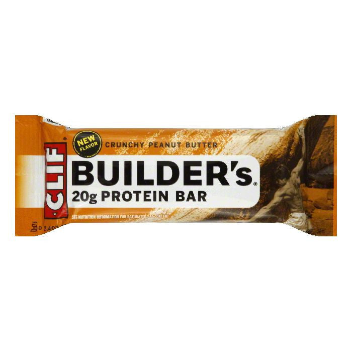 Clif Bar Peanut Butter Crunch Bar, 2.4 OZ (Pack of 12)