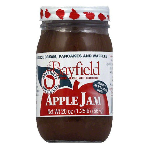 Bayfield Apple Jam, 20 OZ (Pack of 12)