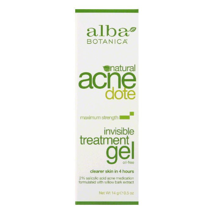 Alba Botanica Gel Acnedote Treatment, 0.5 OZ