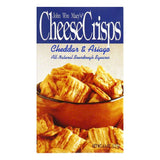 Macys Cheese Crisps Cheddar Asiago, 4.5 OZ (Pack of 8)