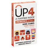 UP4 Yummy Vanilla Chewables Kids Cubes Probiotics with DDS-1, 20 Pc (Pack of 8)
