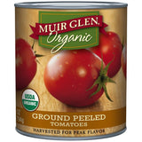 Muir Glen Organic Ground Peeled Tomatoes 28 Oz  (Pack of 6)