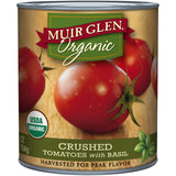 Muir Glen Organic Crushed Tomatoes with Basil 28 Oz  (Pack of 12)
