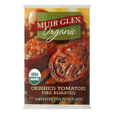 Muir Glen Crushed Fire Roasted Tomatoes, 14.5 OZ (Pack of 12)