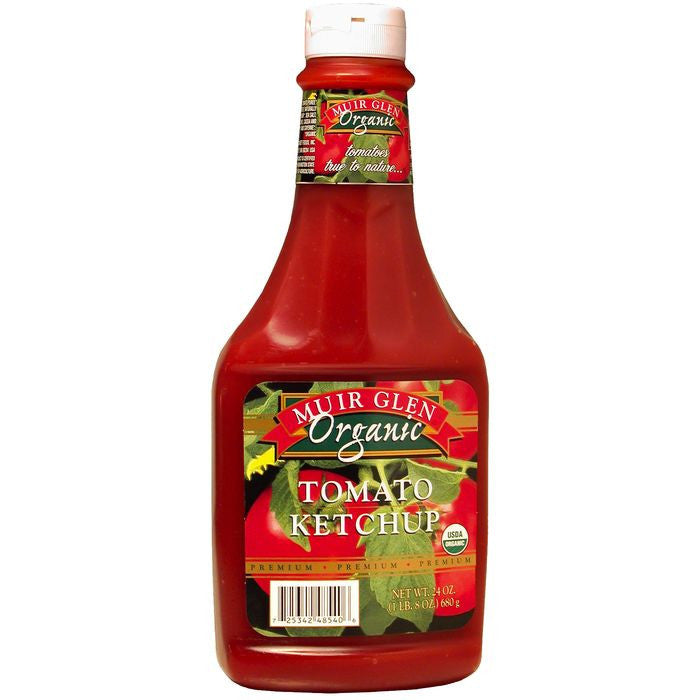 Muir Glen Organic Tomato Ketchup 24 Oz  (Pack of 12)