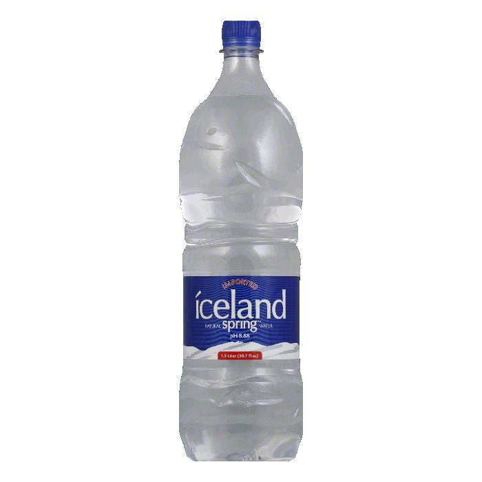 Iceland Spring Water, 1.5 LT (Pack of 12)