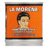 La Morena Home Made Style Chilpotle Sauce, 7 Oz (Pack of 24)