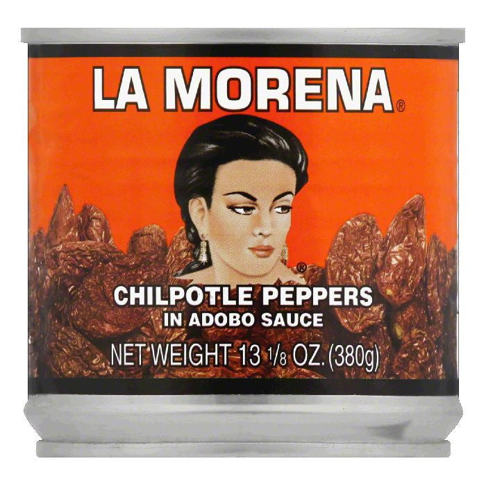 La Morena Chilpotle Peppers, 13.125 Oz (Pack of 12)