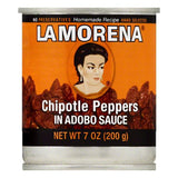 La Morena in Adobo Sauce Chipotle Peppers, 7 OZ (Pack of 24)