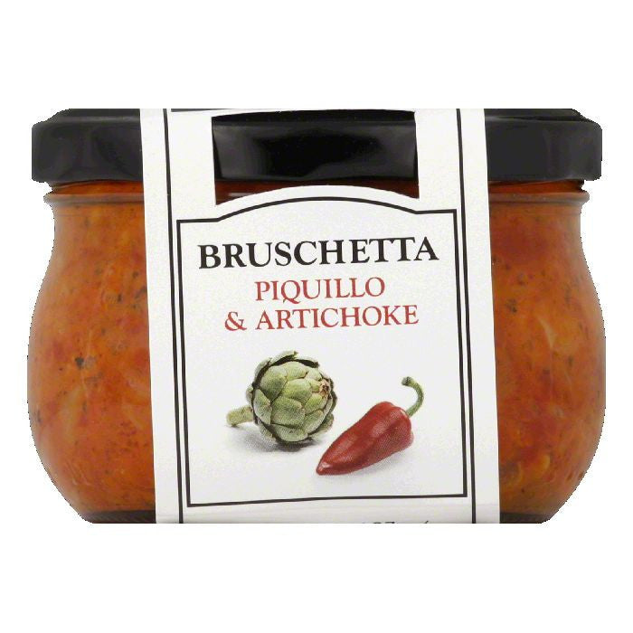 Cucina & Amore Piquillo & Artichoke Bruschetta, 7.9 Oz (Pack of 6)