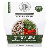 Cucina & Amore Artichokes & Roasted Peppers Quinoa Meal, 7.4 OZ (Pack of 6)