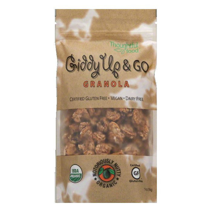 Thoughtful Food Notoriously Nutty Organic Granola, 11 OZ (Pack of 6)