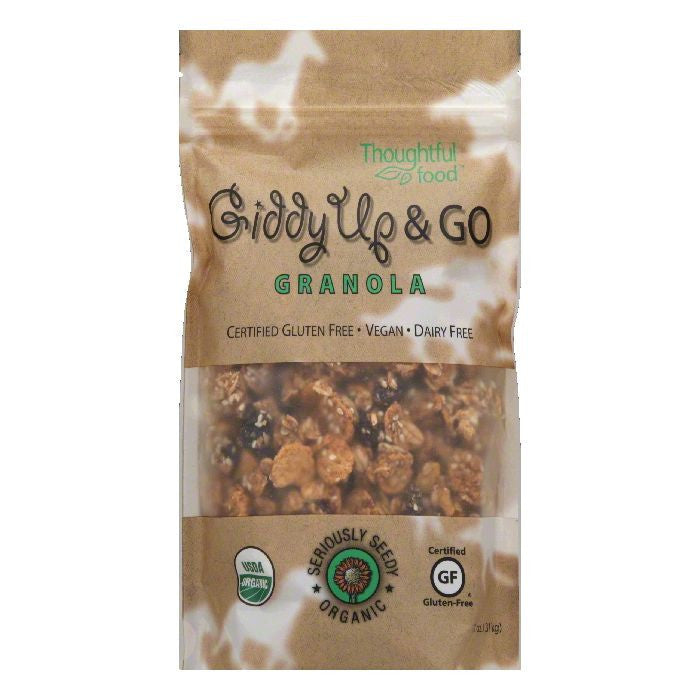Thoughtful Food Seriously Seedy Organic Granola, 11 OZ (Pack of 6)