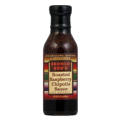 Bronco Bobs Roasted Raspberry Chipotle Sauce, 15.75 OZ (Pack of 6)
