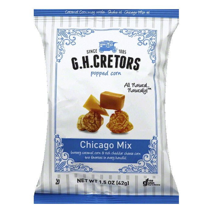 GH Cretors Chicago Mix Popped Corn, 1.5 OZ (Pack of 24)