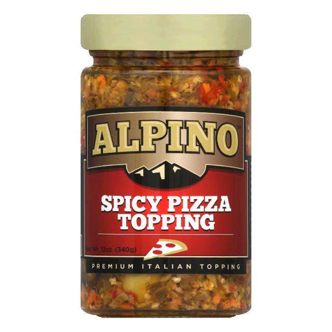 Alpino Spicy Pizza Topping, 12 Oz (Pack of 6)
