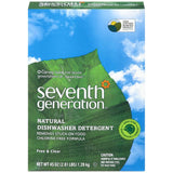 Seventh Generation Free & Clear Automatic Dishwasher Detergent 45 Oz Pour Spout (Pack of 12)