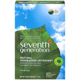 Seventh Generation Free & Clear Automatic Dishwasher Detergent 75 Oz  (Pack of 8)