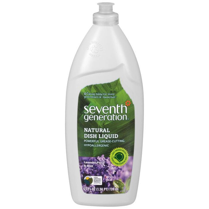 Seventh Generation Natural Lavender Floral & Mint 25 fl. Oz Squeeze  (Pack of 12)