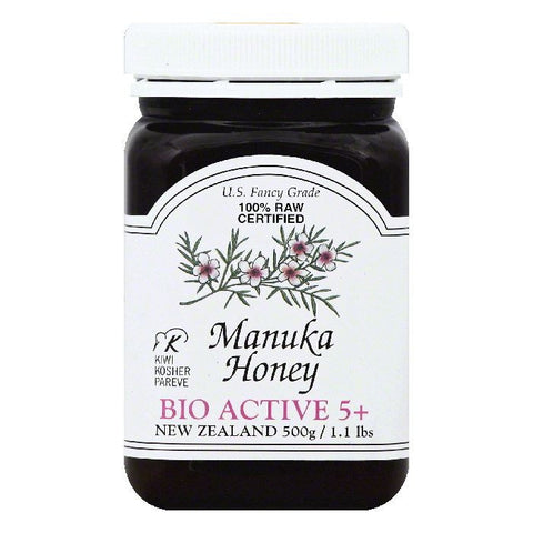 Nelson Honey Bio Active 5+ Manuka Honey, 1.1 lb  ( Pack of  6)
