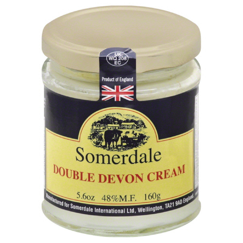 Somerdale Double Devon Cream, 5.6 Oz (Pack of 12)