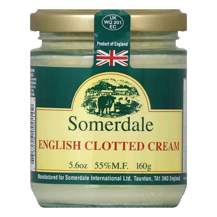 Somerdale English Clotted Cream, 5.6 OZ (Pack of 12)