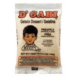 D Gari Pineapple Gelatin Dessert, 5 Oz (Pack of 24)