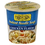 Tradition Imitation Chicken Flavor Instant Noodle Soup, 2.29 Oz (Pack of 12)